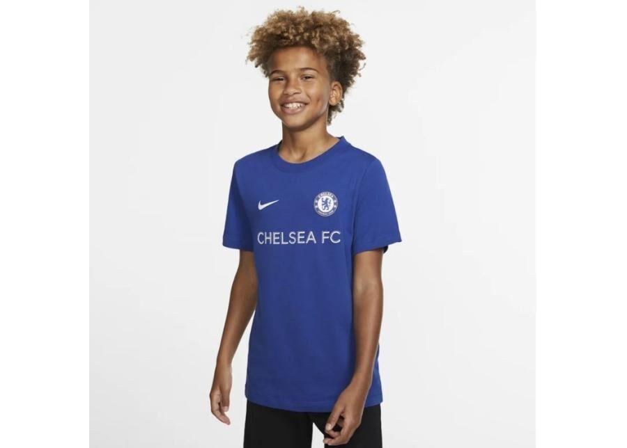 Image of Nike Lasten jalkapallopaita Nike Chelsea FC B Tee Core Tee Match Junior BQ0729-495