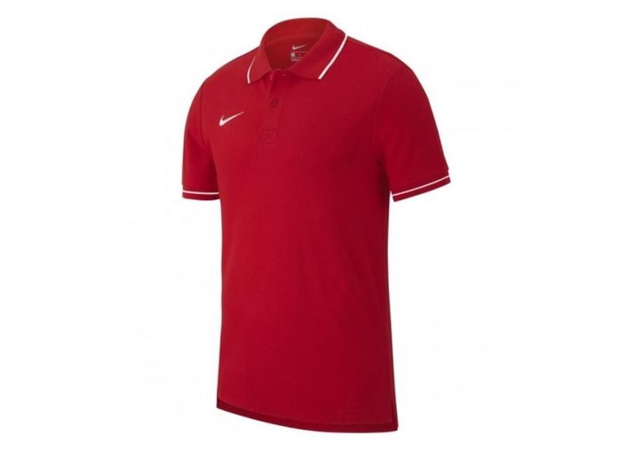Image of Nike Lasten jalkapallopaita Nike Y Polo Team Club 19 SS Junior AJ1546-657