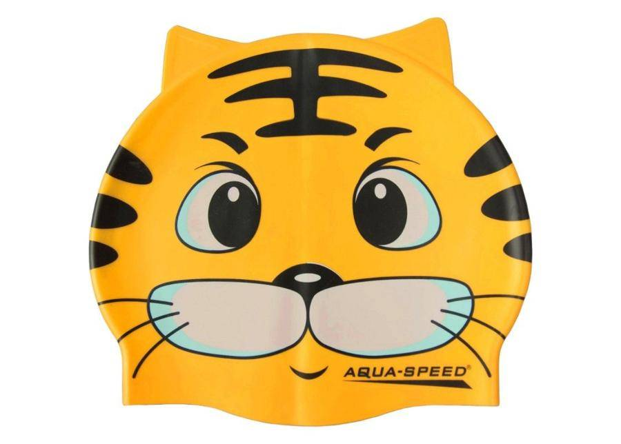 Aqua-Speed Lasten uimalakki Aqua-Speed Silikoni ZOO Cat