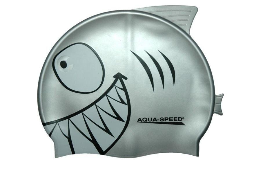 Aqua-Speed Lasten uimalakki Aqua-Speed Silikoni SHARK 4