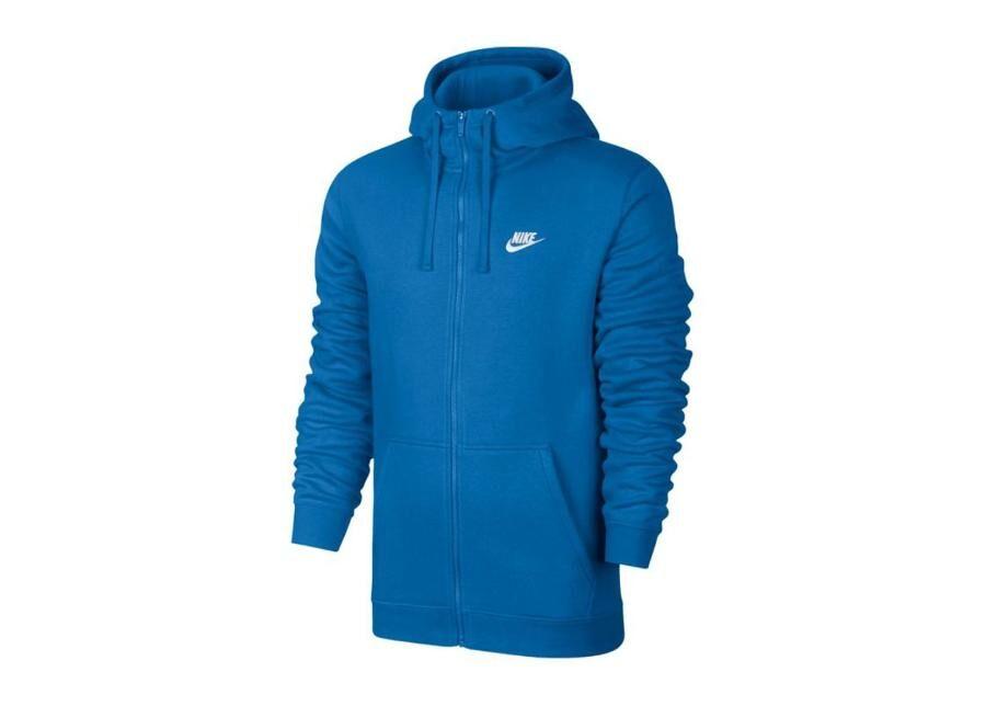 Image of Nike Miesten huppari Nike NSW Club Hoodie FZ BB M 804389-403