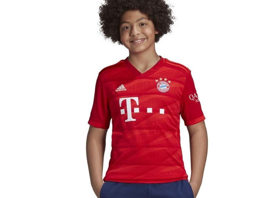 Adidas Lasten jalkapallopaita Adidas FC Bayern H JSY Y Junior DX9253