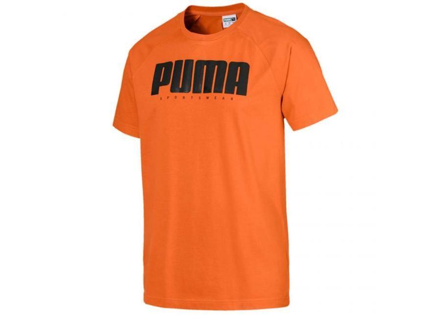 Image of Puma Miesten vapaa-ajanpaita Puma Athletics Tee M 580134 17