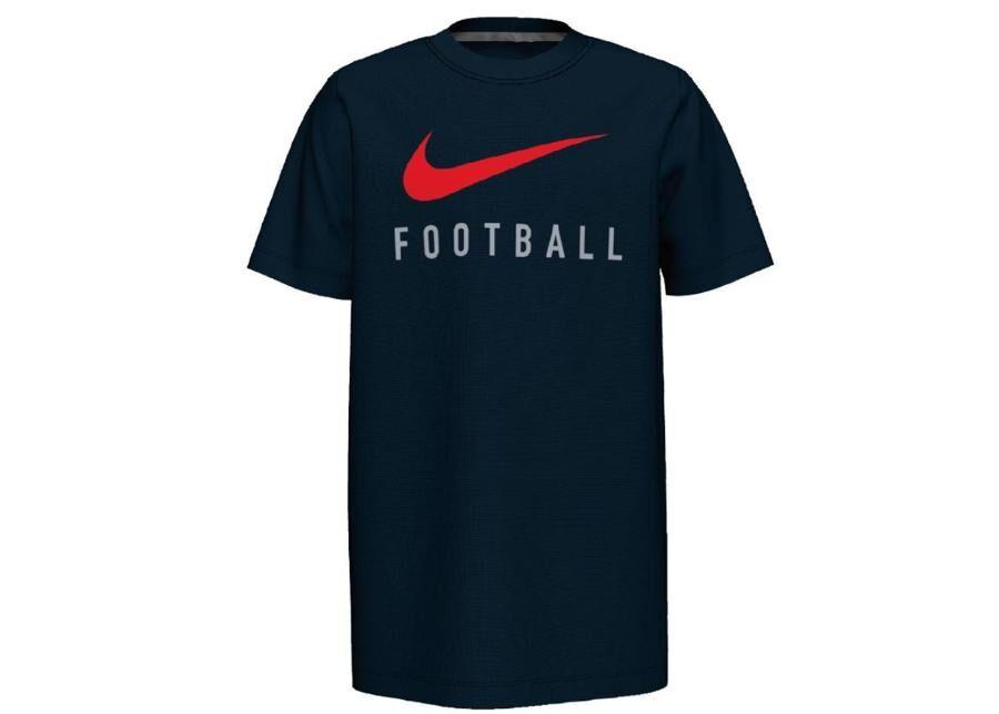 Image of Nike Miesten vapaa-ajanpaita Nike Dry Tee Swoosh Foootball Junior BQ8442-010