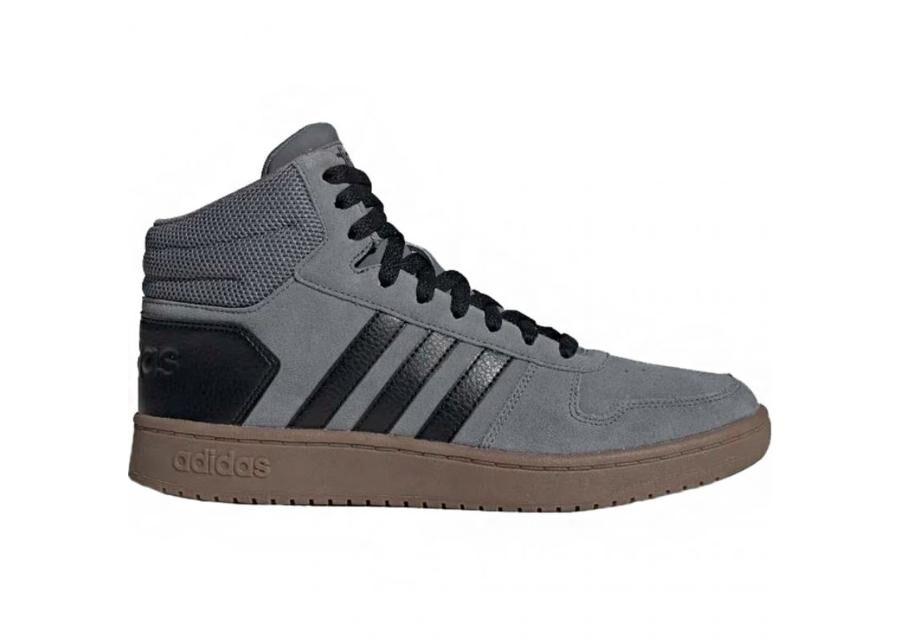 Image of Adidas Miesten vapaa-ajan kengät Hoops 2.0 Mid M EE7367