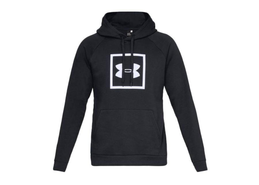 Image of Under Armour Miesten huppari Under Armour Rival Fleece Logo Hoodie M 1329745-001