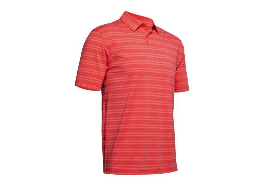 Image of Under Armour Miesten poolopaita Polo Under Armour Charged Cotton Scramble Stripe M 1323455-646