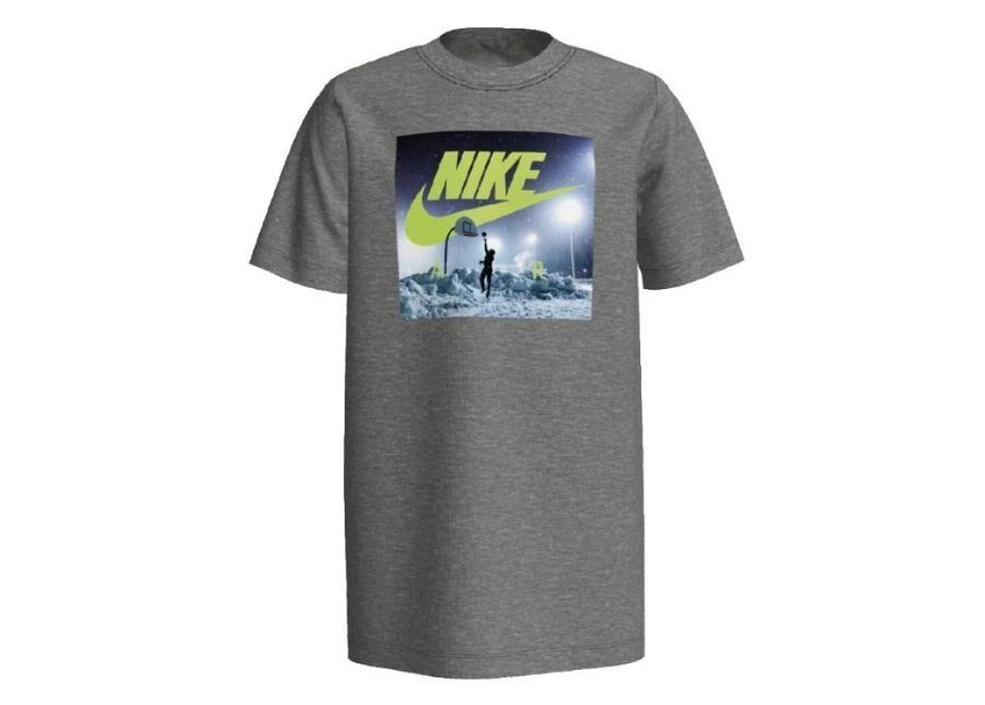 Image of Nike Lasten vapaa-ajanpaita Nike B NSW Tee Air Hoop Snow Junior CK5771-063