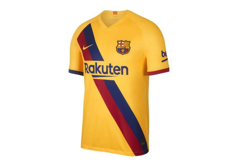 Image of Nike Miesten jalkapallopaita Nike FC Barcelona Breathe Stadium Away 19/20 M AJ5531-728