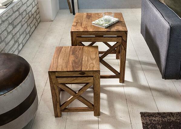 SKYPORT Sohvapöydät Pali 2 kpl