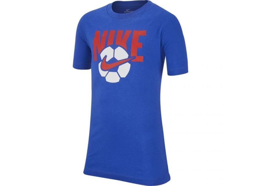 Image of Nike Lasten vapaa-ajanpaita Nike B NSW Tee Soccer Ball Jr AR5286 480