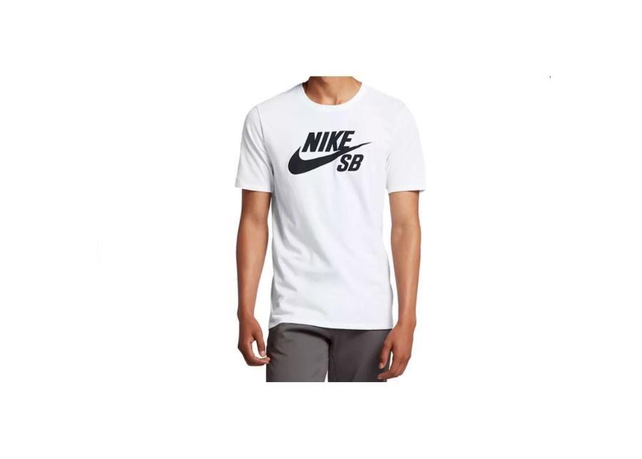 Image of Nike Miesten vapaa-ajanpaita Nike SB Logo Tee M 821946-100