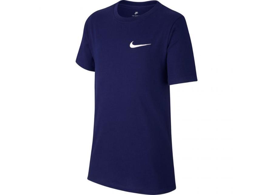 Image of Nike Lasten vapaa-ajanpaita Nike Jr B Tee EMB Swoosh JR AR1910 478