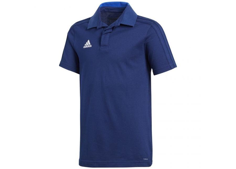 Image of Adidas Lasten jalkapallopaita adidas Condivo 18 Cotton Polo Jr CF4368