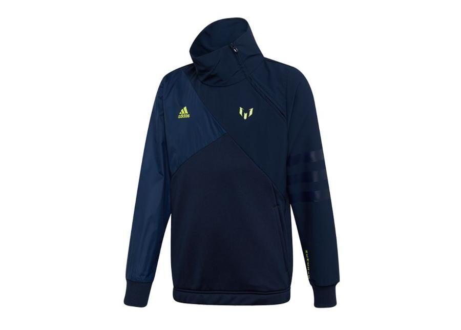Image of Adidas Lasten verryttelytakki adidas Messi Half Zip Top JR DW5376