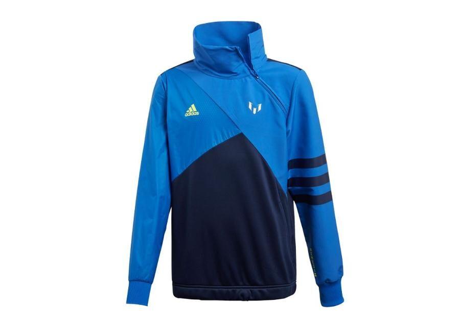 Image of Adidas Lasten verryttelytakki Messi Half Zip Top JR DW5375