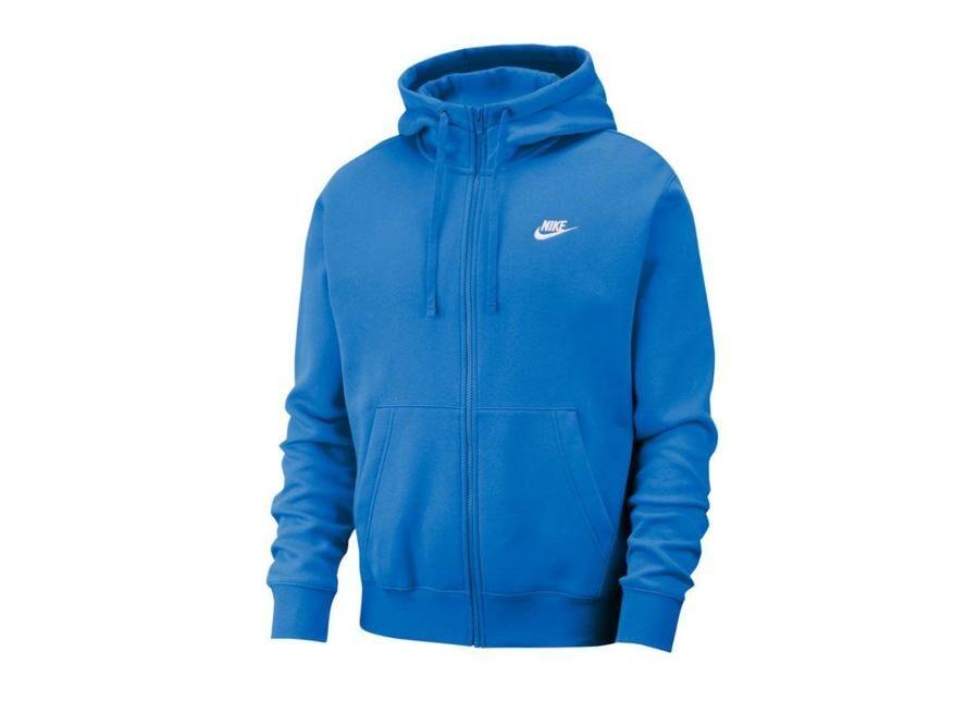 Image of Nike Miesten huppari Nike NSW Club Hoodie FZ M BV2645-435