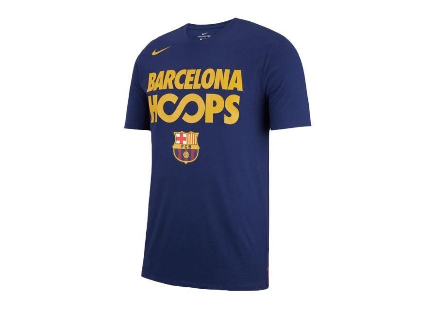 Image of Nike Miesten vapaa-ajanpaita Nike FC Barcelona Dry Tee Hoops M AA5574-421