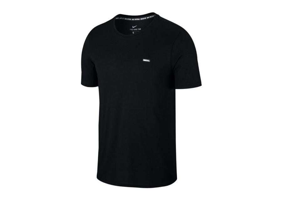 Image of Nike Miesten jalkapallopaita Nike F.C. Dry Tee Small Block M AH9657-010