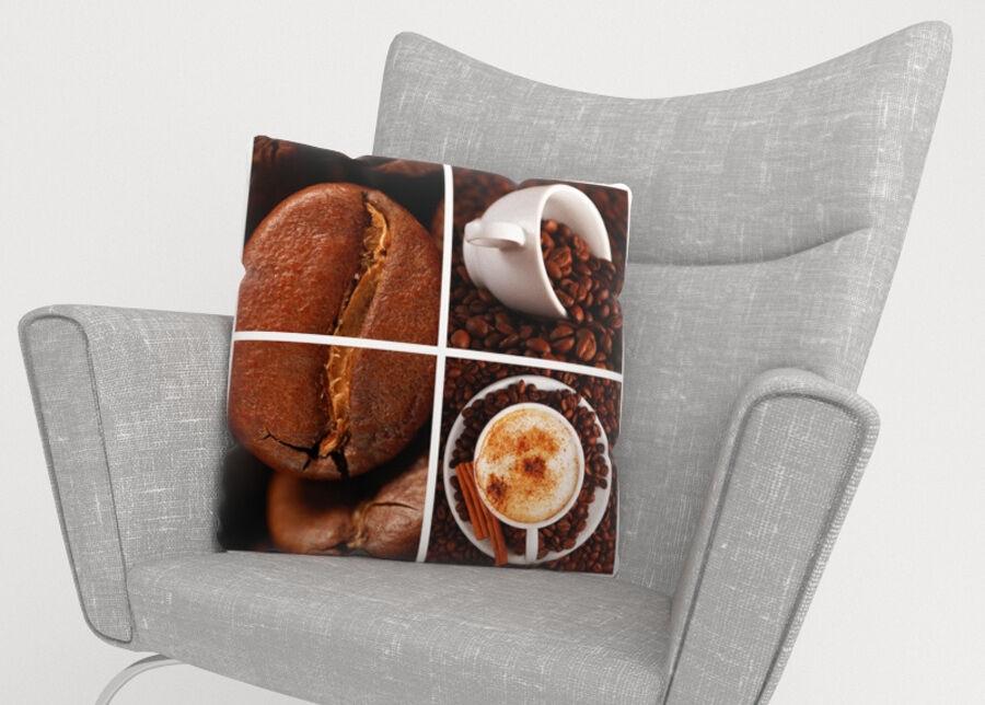 Image of Koristetyynyliina Coffee 1 45x45 cm