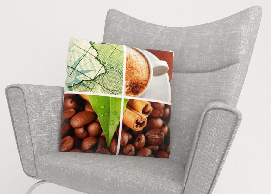 Image of Koristetyynyliina Coffee 2 45x45 cm