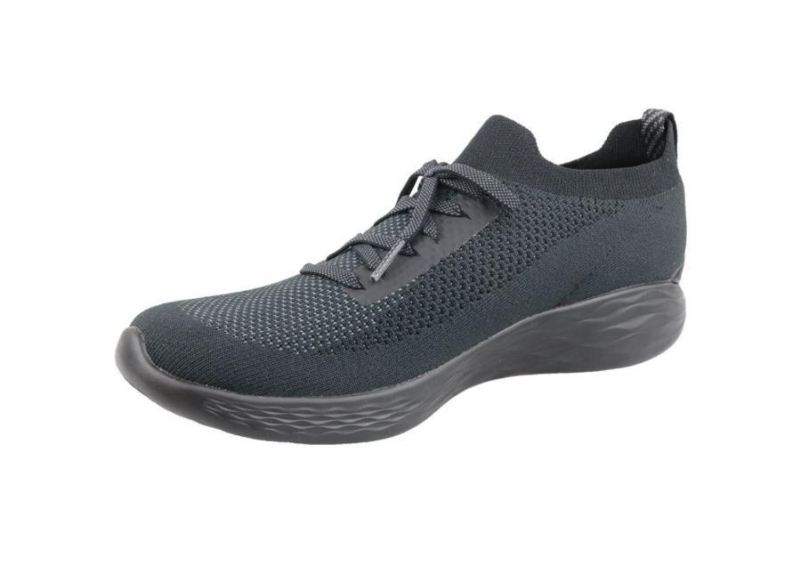 Naisten vapaa-ajan kengät Skechers You Shine Trainers W 14957-BKGY