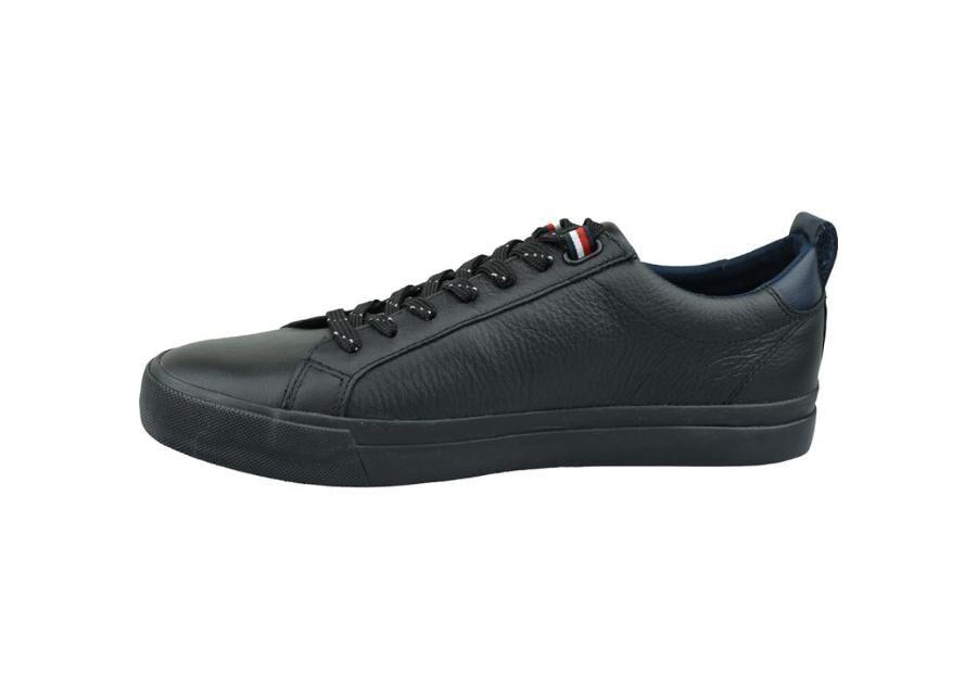 Image of Inny Miesten vapaa-ajan kengät Tommy Hilfiger Flag Detail Leather Sneaker M