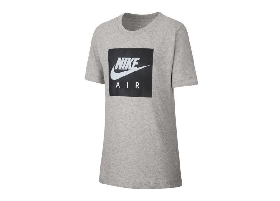 Image of Lasten vapaa-ajanpaita Nike NSW Tee Air Box Jr AR5257-063