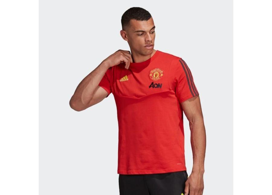 Image of Adidas Miesten jalkapallopaita adidas Manchester United Tee M DX9023