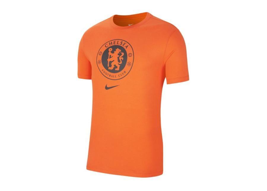 Image of Nike Miesten jalkapallopaita Nike Chelsea FC Tee Crest 2 M CD3184-817