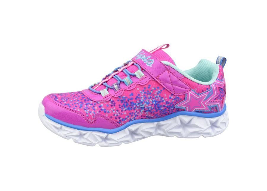 Lasten vapaa-ajan kengät Skechers Galaxy Lights Jr 10920L-NPMT