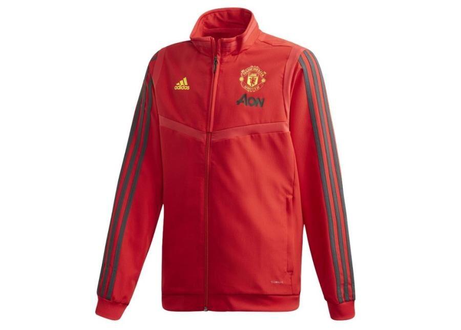 Image of Adidas Lasten verryttelytakki Adidas Manchester United JKT JR DX9042