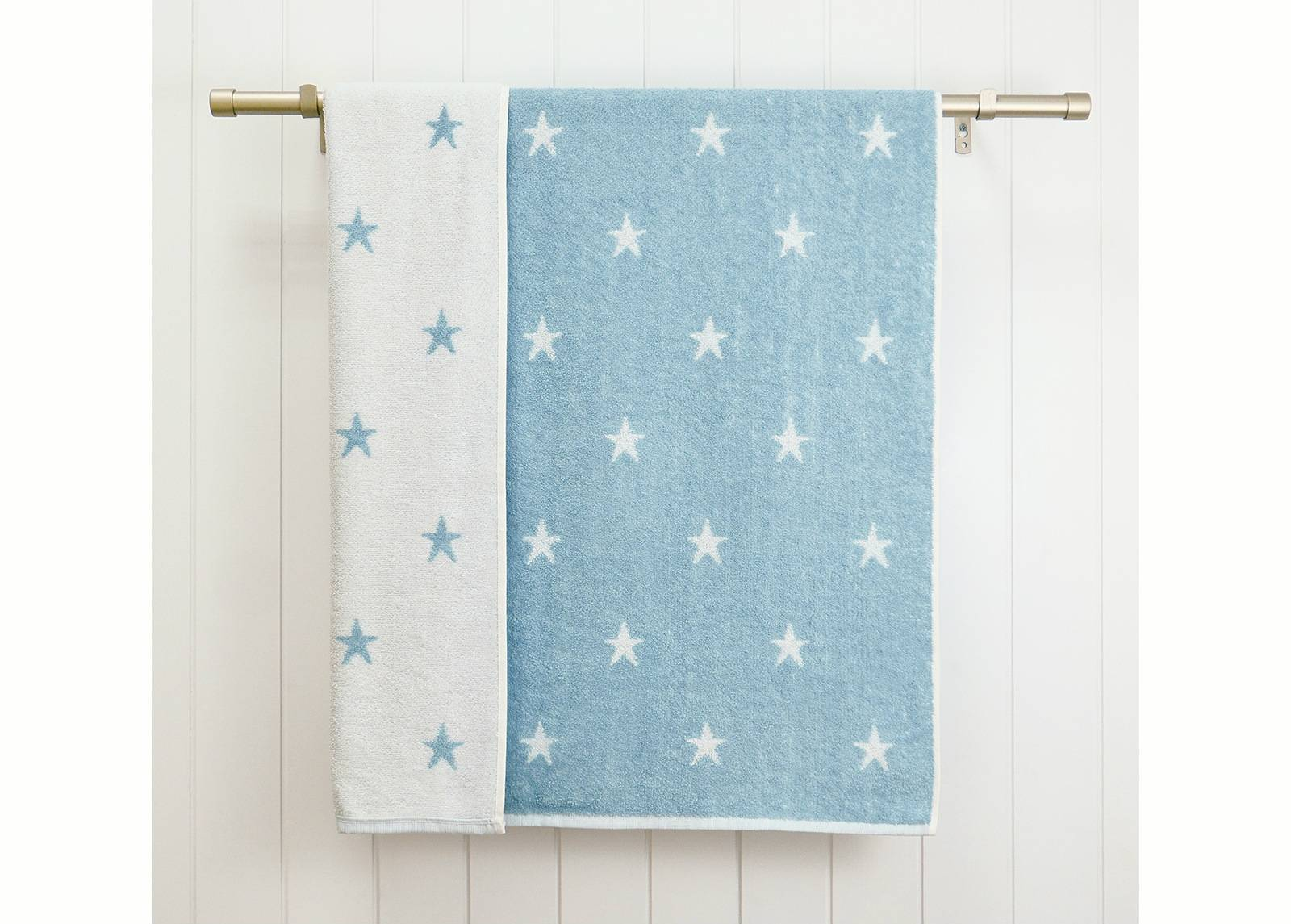 ARDENZA BABY Lasten froteepyyhe Stars 70x120 cm, sininen