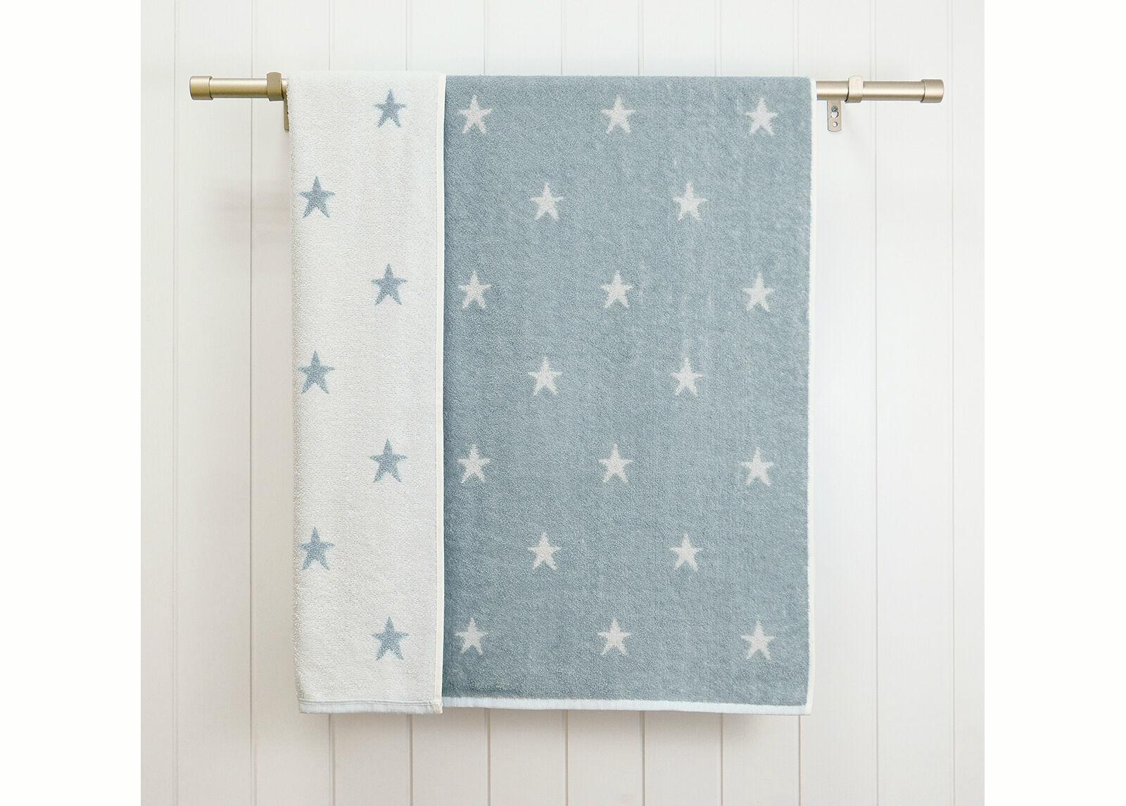 ARDENZA BABY Froteepyyhe Stars 70x120 cm, farkunsininen