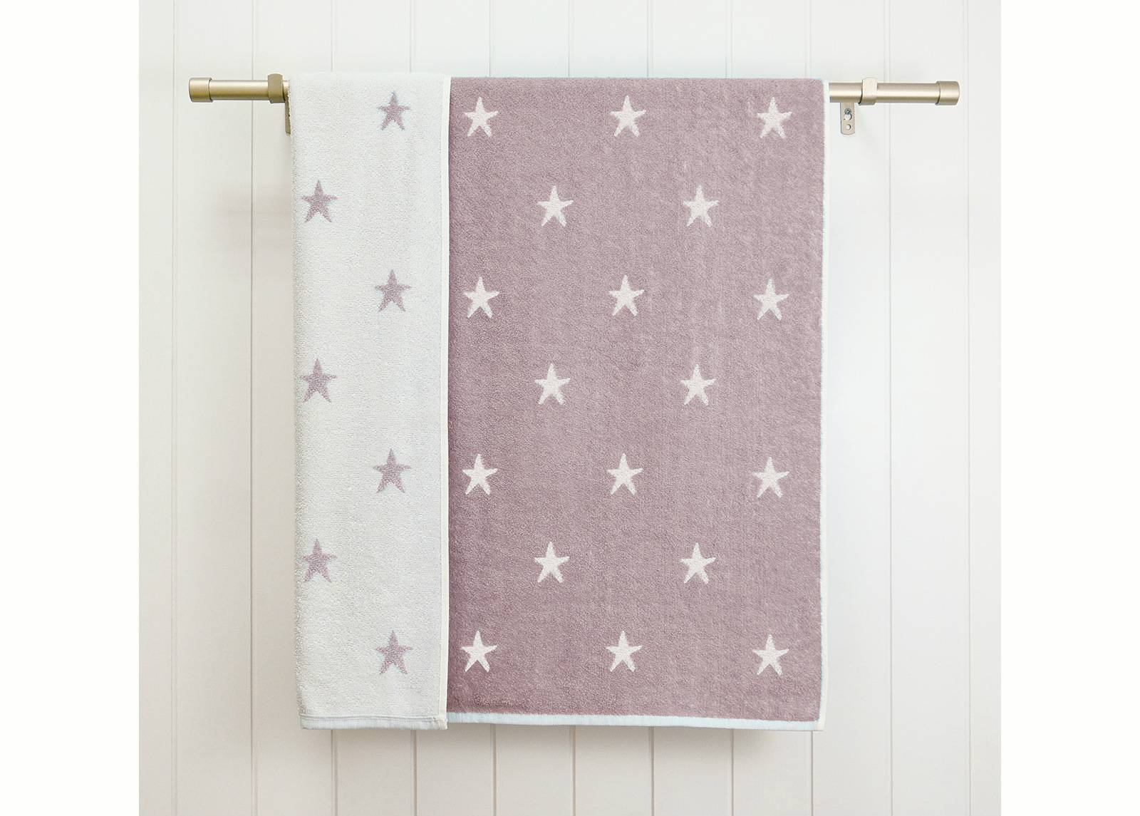ARDENZA BABY Froteepyyhe Stars 70x120 cm, violetti