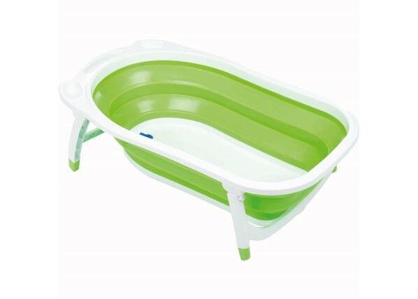 Fillikid Kokoontaitettava vauvan kylpyamme Dori vihreä Fillikid