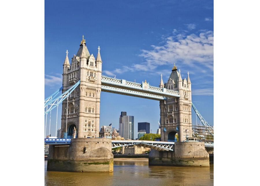 Image of Fleece-kuvatapetti Tower bridge 225x250 cm