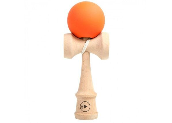 Kendama Europe Kendama Play Monster Grip Orange 24,5 cm