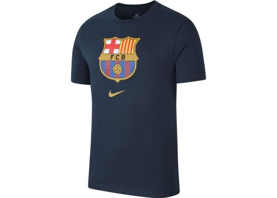 Image of Nike Miesten jalkapallopaita Nike FC Barcelona M NK Tee Evergreen Crest M CD3115-475