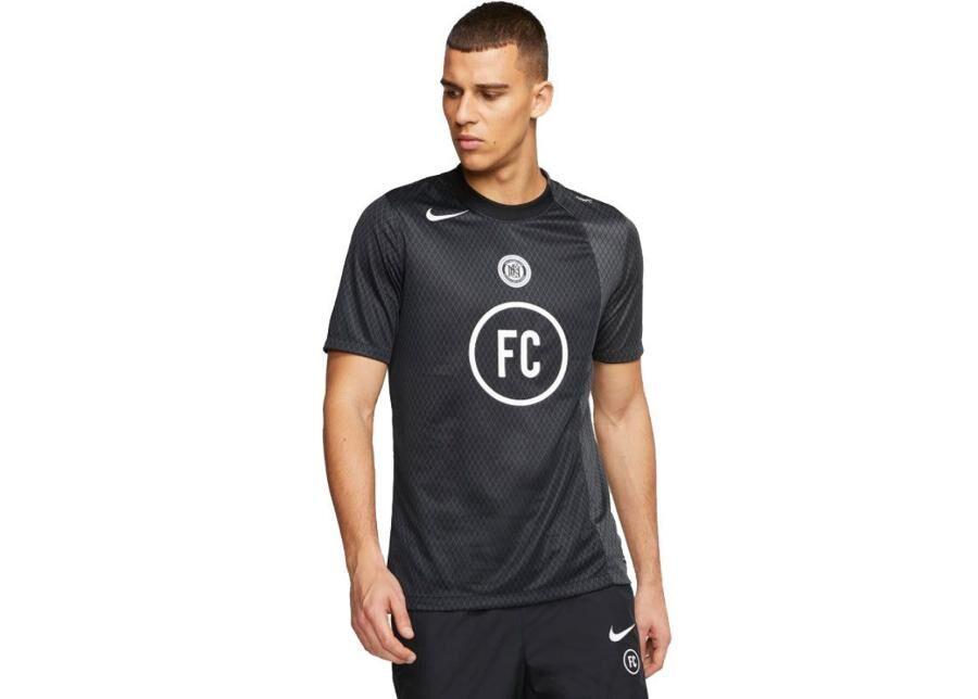 Image of Nike Miesten jalkapallopaita Nike F.C. Top SS Away Jersey M BQ5725-010