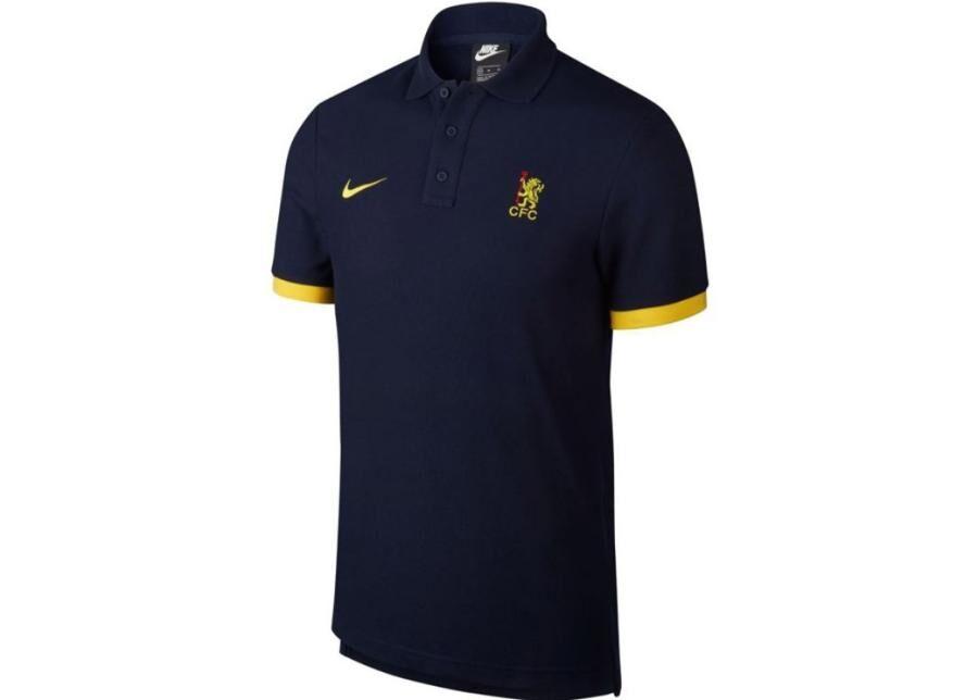 Image of Nike Miesten jalkapallopaita Polo Nike Chelsea FC M AR8629-451