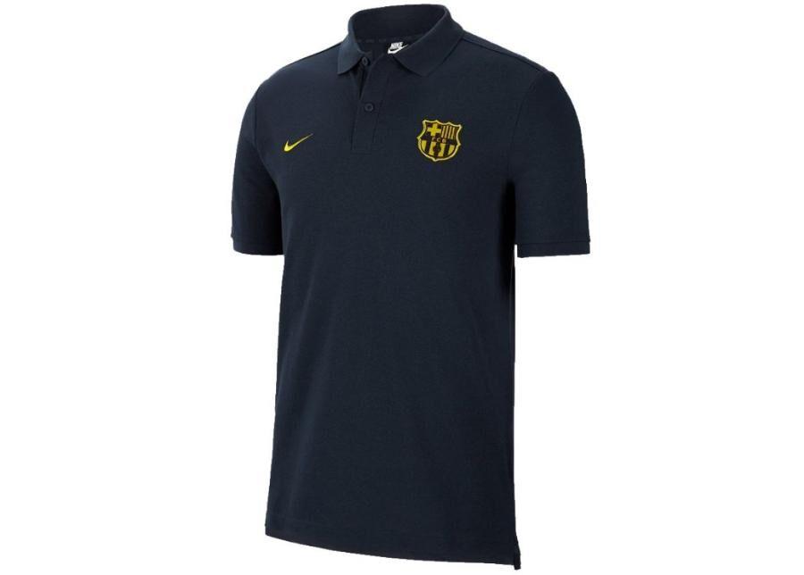 Image of Nike Miesten jalkapallopaita Polo Nike FC Barcelona NK Tee Core Match M AT4459-475