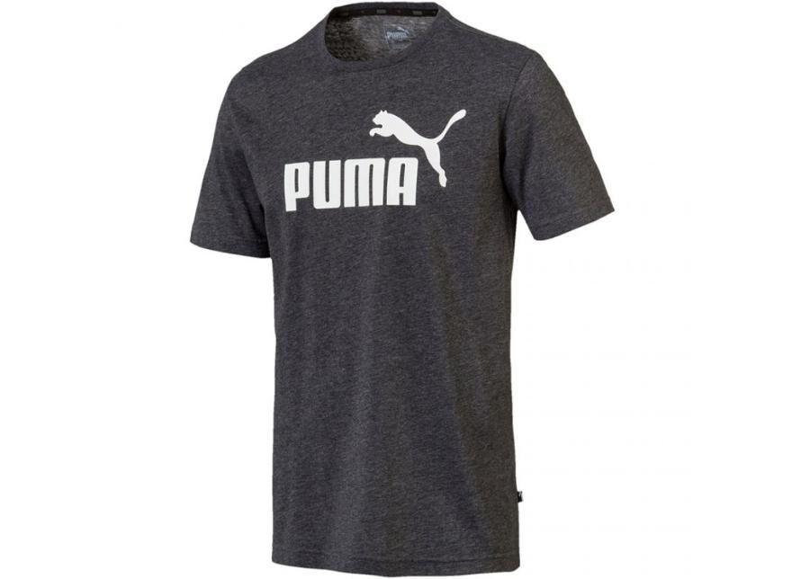 Image of Puma Miesten vapaa-ajanpaita Puma ESS Heather Tee M 852419 01