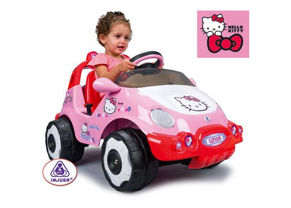 Sähköauto INJUSA HELLO KITTY