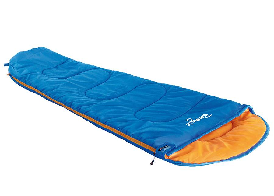 High Peak Lasten makuupussi Boogie, sininen/ oranssi