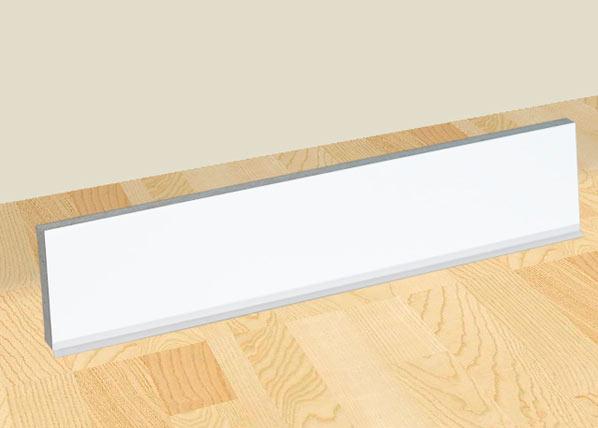 Baltest Mööbel Valkoinen sivusokkeli 85 cm keittiökaapille