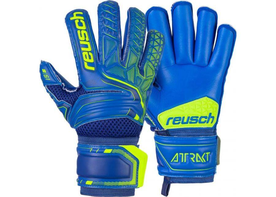 Reusch Maalivahdin hanskat lapsille Reusch Attrakt S1 Roll Finger Junior 5072217 4949