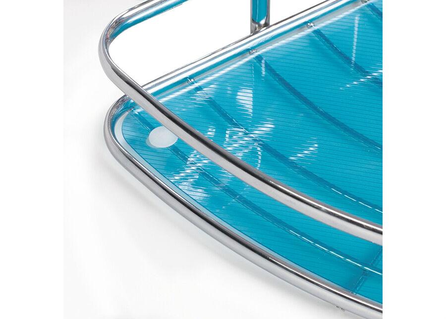 TATKRAFT Kylpyhuoneen kulmahylly Tatkraft Kaiser Compact