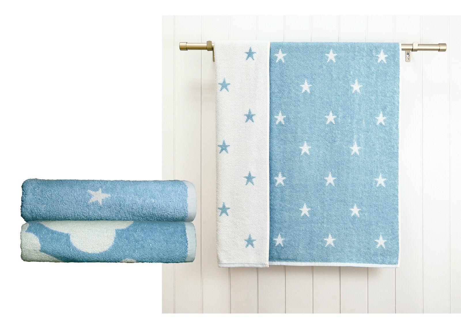 ARDENZA BABY Froteepyyhkeet Stars /Clouds 2 kpl, sininen