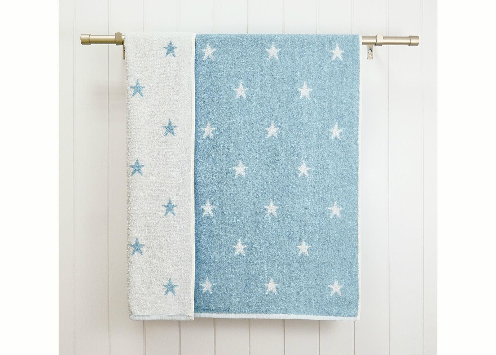 ARDENZA BABY Froteepyyhkeet Stars, 2 kpl sininen
